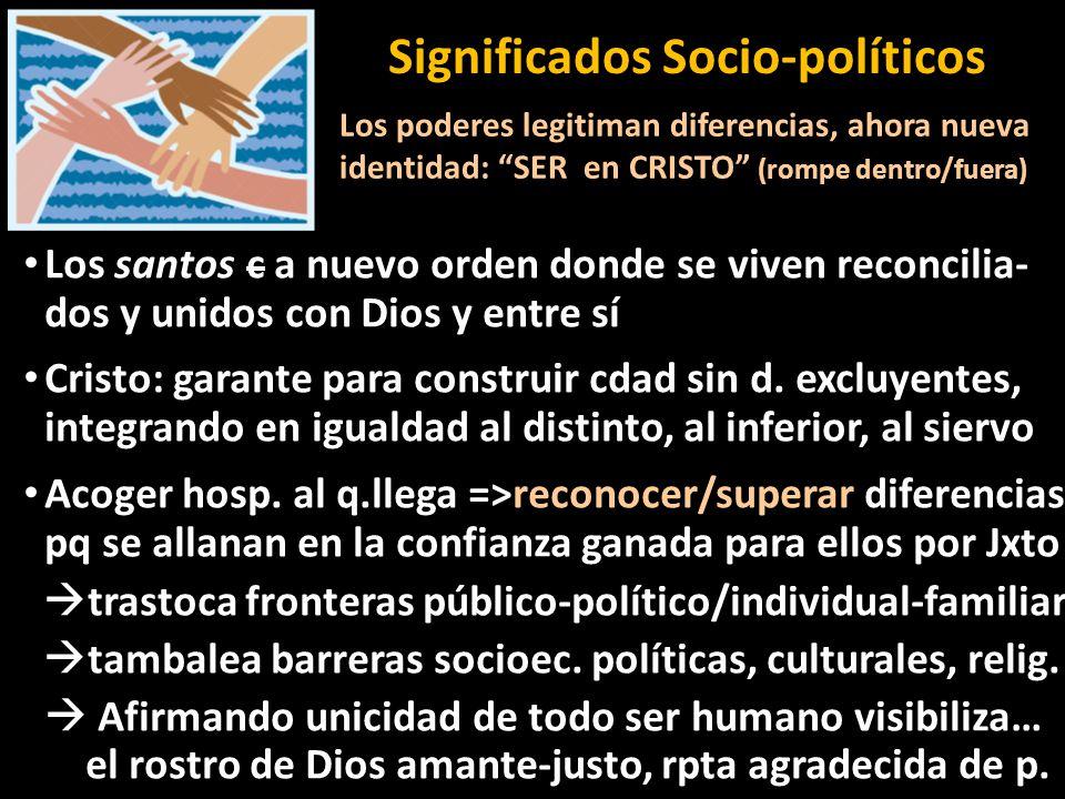 Significados Socio-políticos