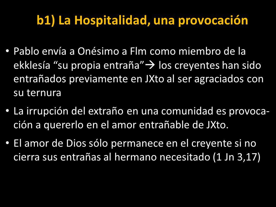 b1) La Hospitalidad, una provocación