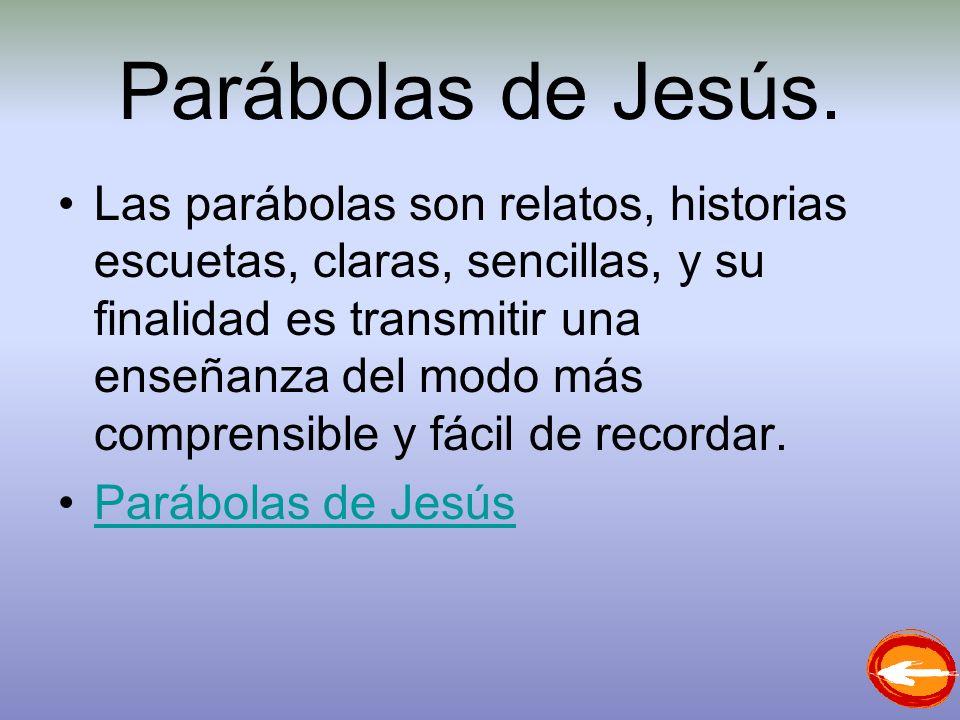 Parábolas de Jesús.
