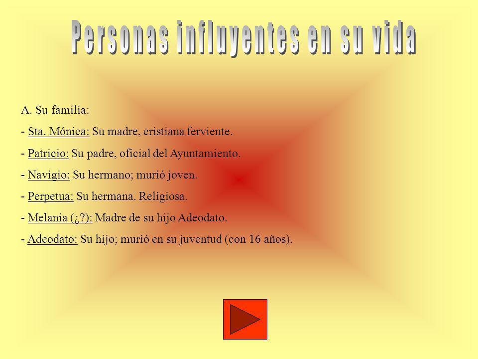 Personas influyentes en su vida