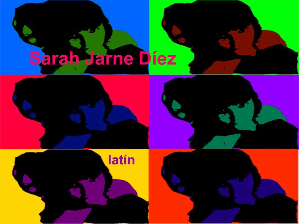 Sarah Jarne Díez latín