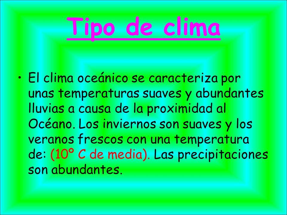 Tipo de clima
