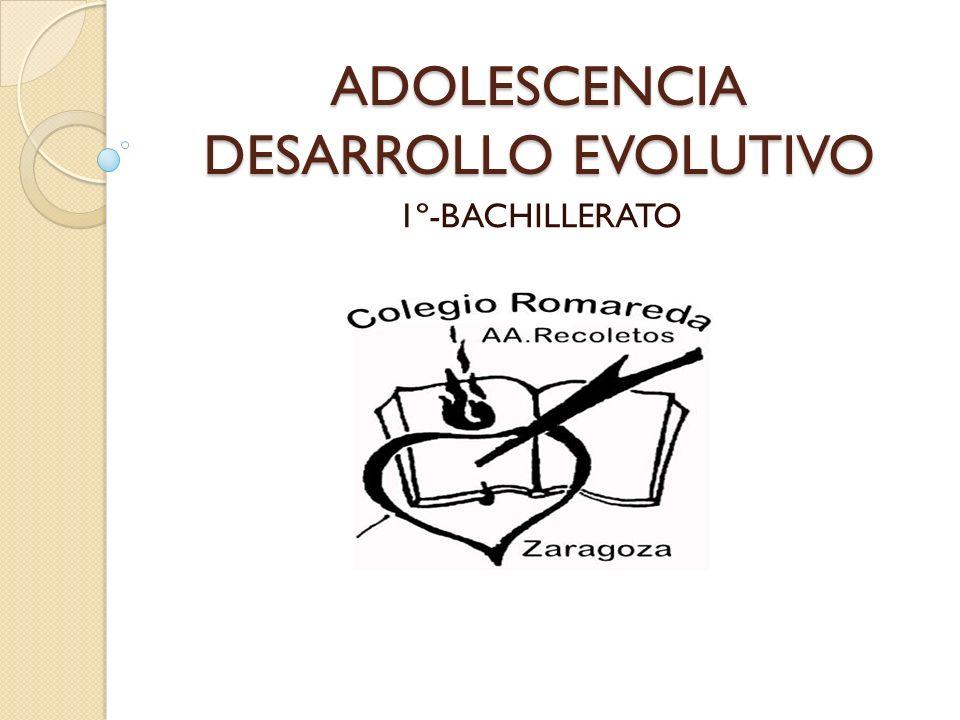 ADOLESCENCIA DESARROLLO EVOLUTIVO