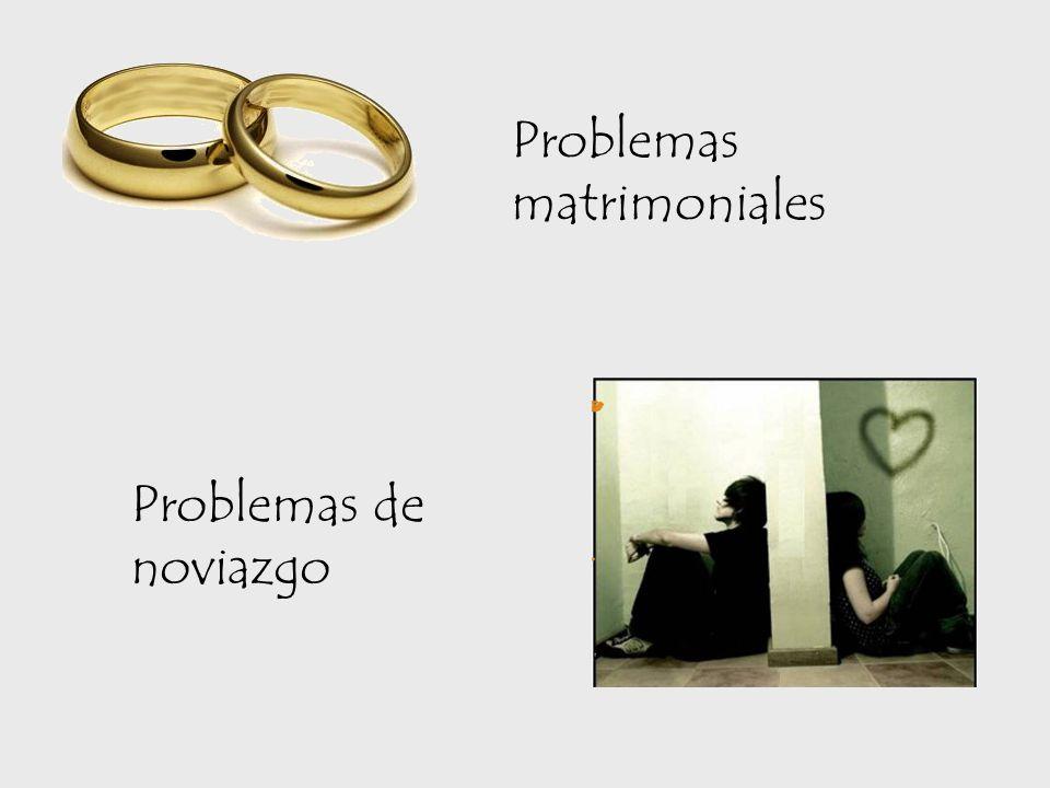 Problemas matrimoniales