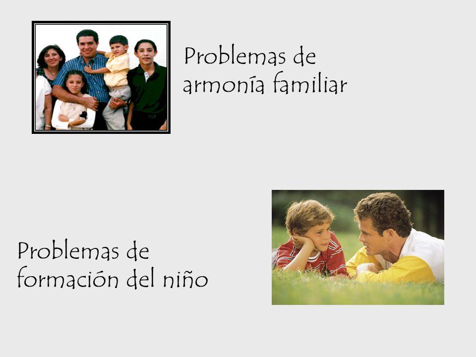 Problemas de armonía familiar
