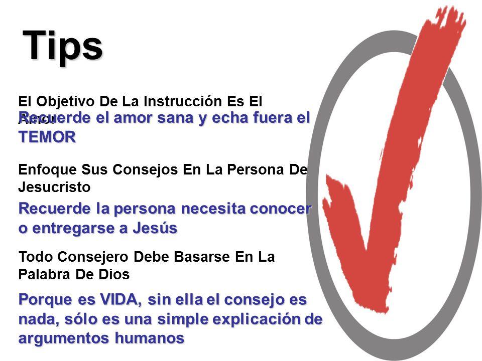 Tips Recuerde el amor sana y echa fuera el TEMOR