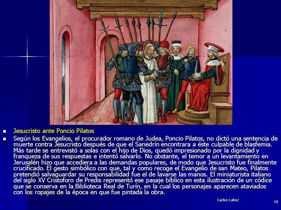 Jesucristo ante Poncio Pilatos