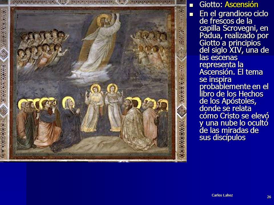 Giotto: Ascensión