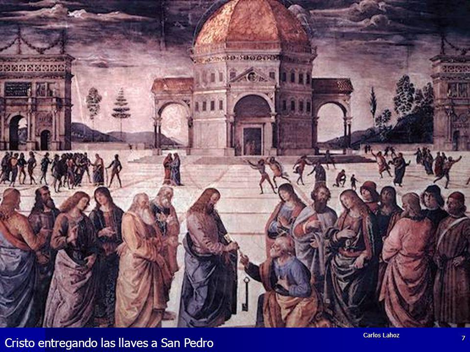 Cristo entregando las llaves a San Pedro