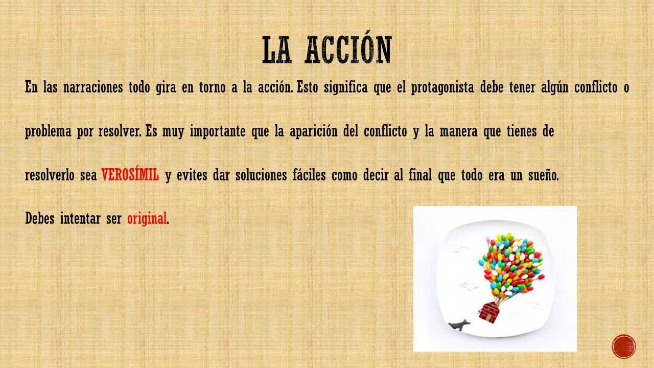 La acción