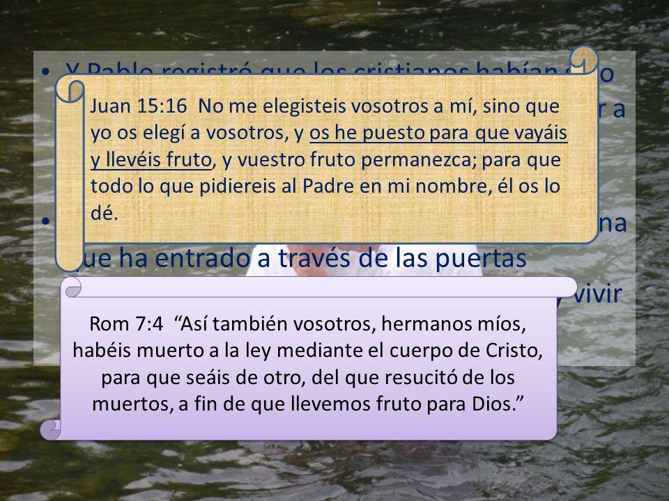 Juan 15:16 No me elegisteis vosotros a mí, sino que yo os elegí a vosotros, y os he puesto para que vayáis y llevéis fruto, y vuestro fruto permanezca; para que todo lo que pidiereis al Padre en mi nombre, él os lo dé.