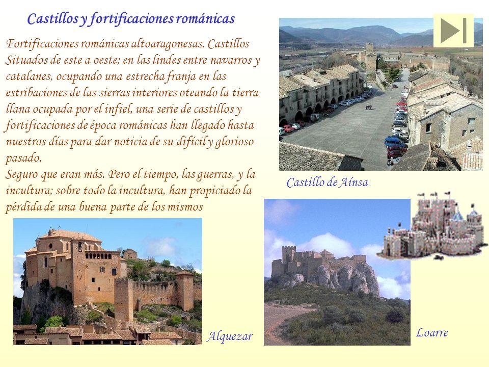 Castillos y fortificaciones románicas