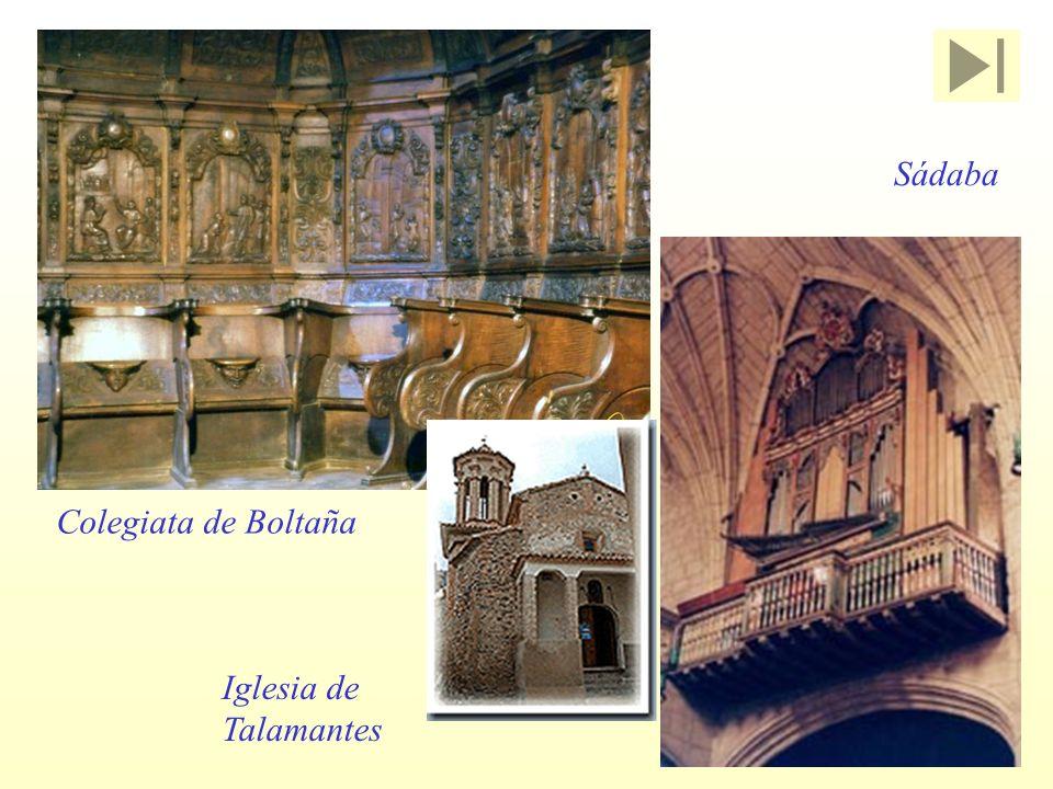Sádaba Colegiata de Boltaña Iglesia de Talamantes