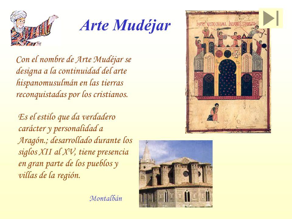Arte Mudéjar Con el nombre de Arte Mudéjar se designa a la continuidad del arte hispanomusulmán en las tierras reconquistadas por los cristianos.