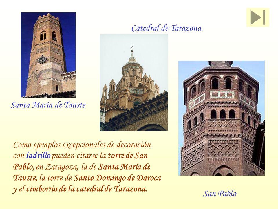 Catedral de Tarazona. Santa María de Tauste.