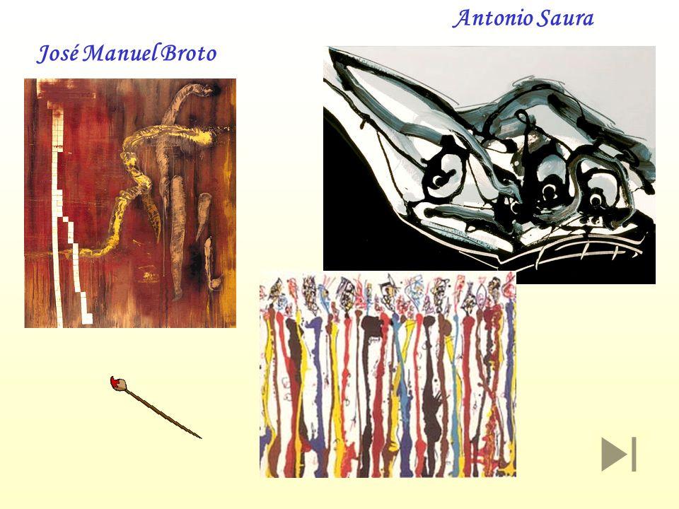Antonio Saura José Manuel Broto