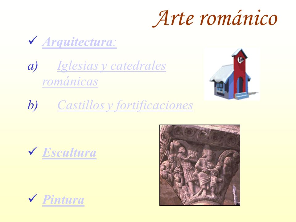 Arte románico Arquitectura: Iglesias y catedrales románicas