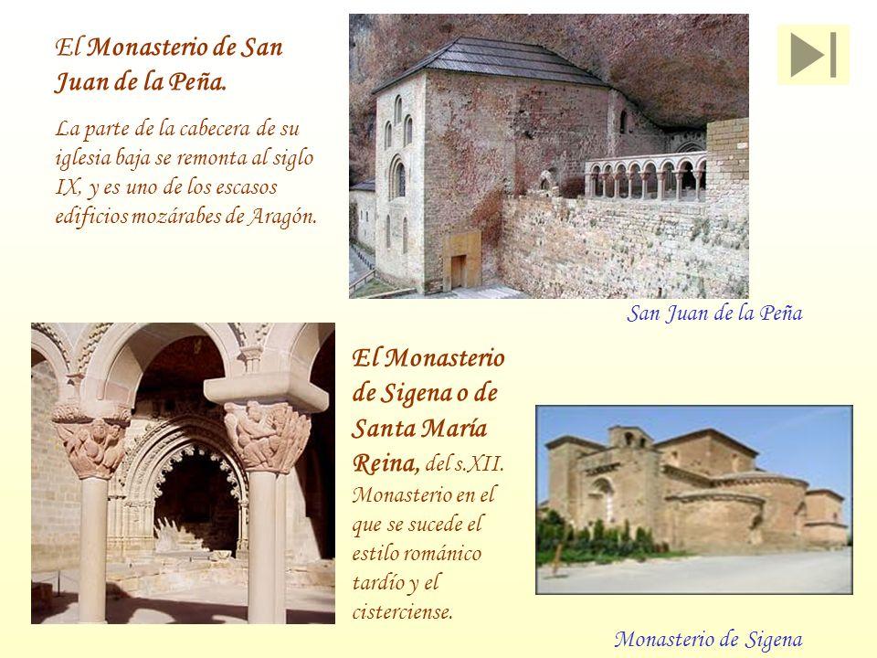 El Monasterio de San Juan de la Peña.