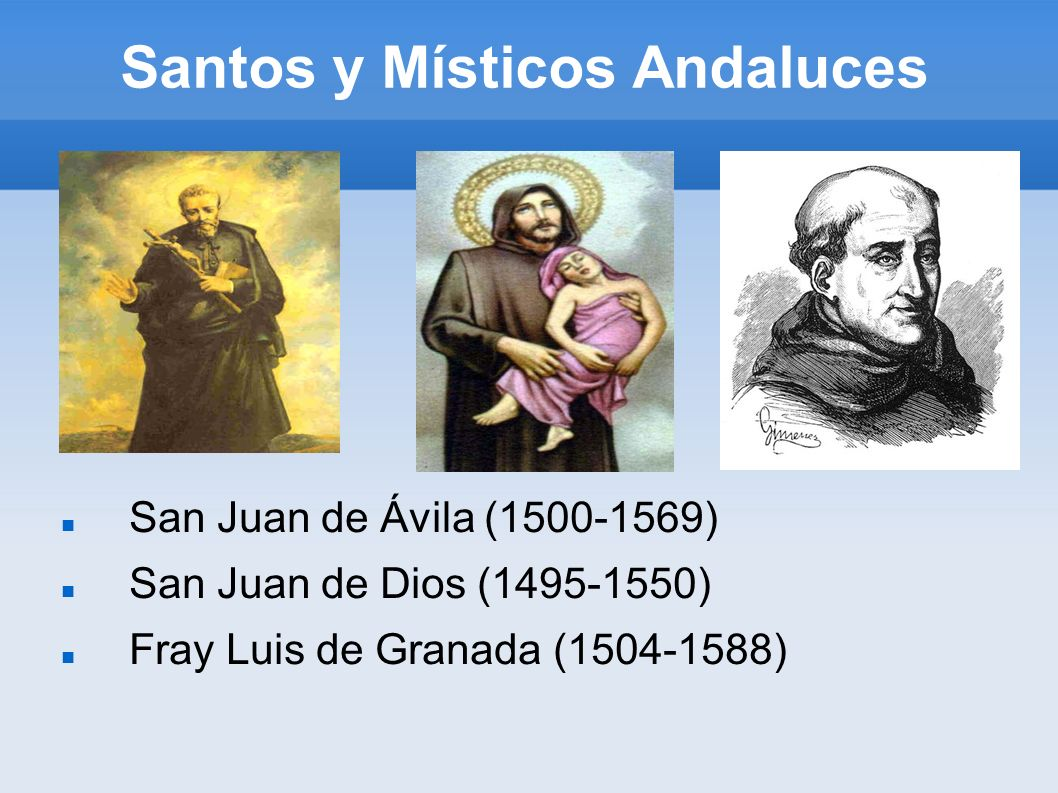 Santos y Místicos Andaluces