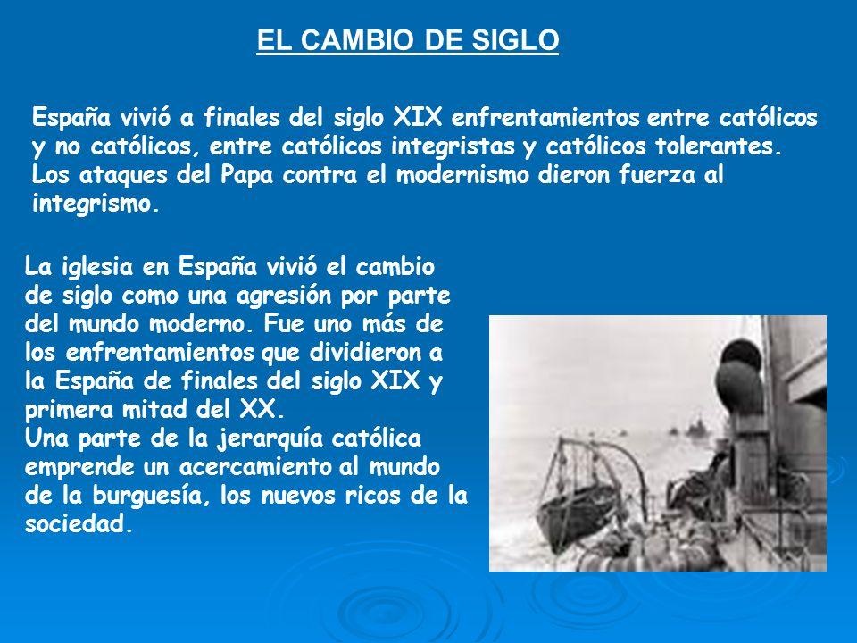 EL CAMBIO DE SIGLO
