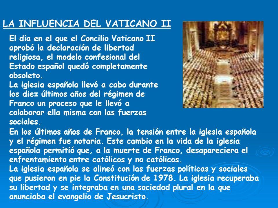 LA INFLUENCIA DEL VATICANO II