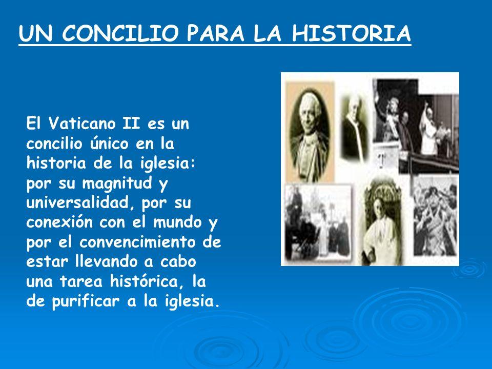 UN CONCILIO PARA LA HISTORIA