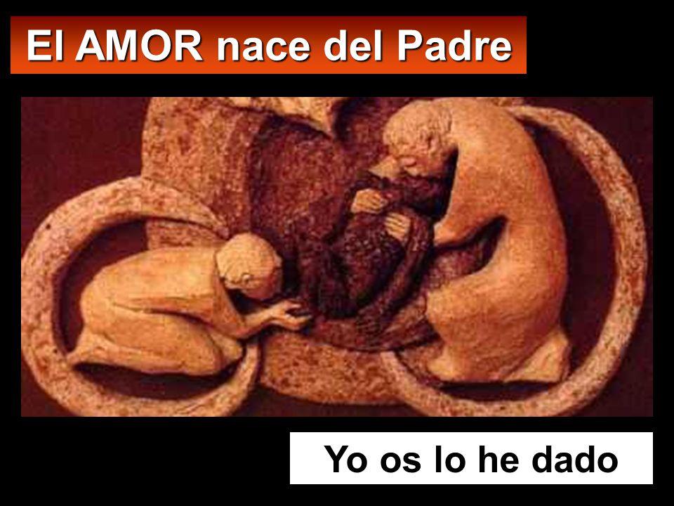 El AMOR nace del Padre Yo os lo he dado