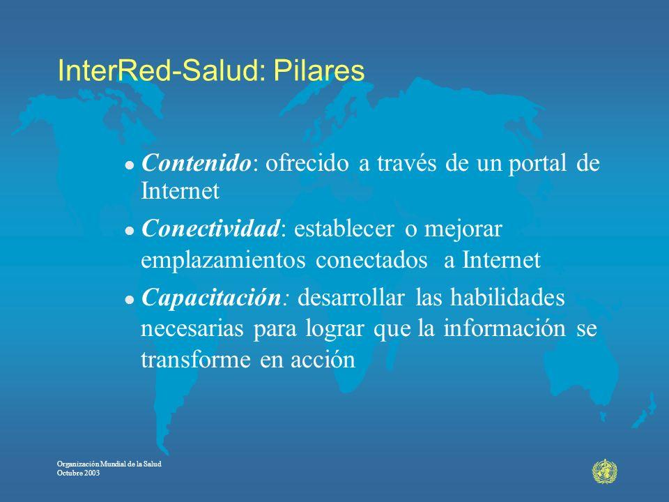 InterRed-Salud: Pilares