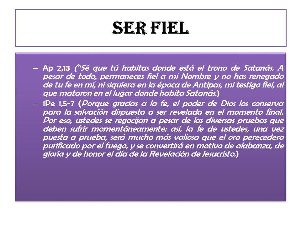 Ser Fiel