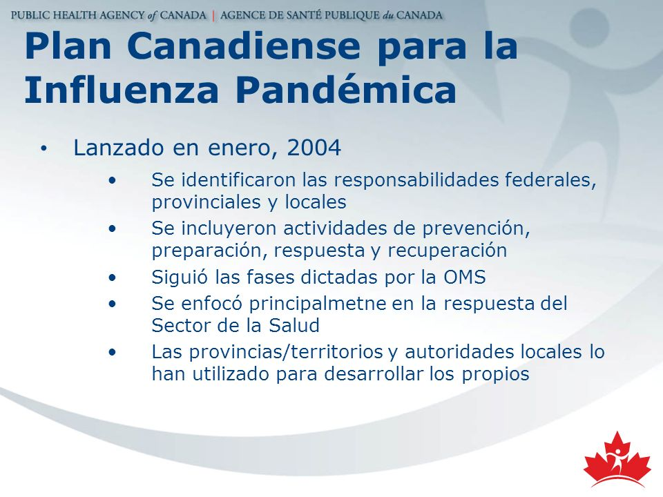 Plan Canadiense para la Influenza Pandémica