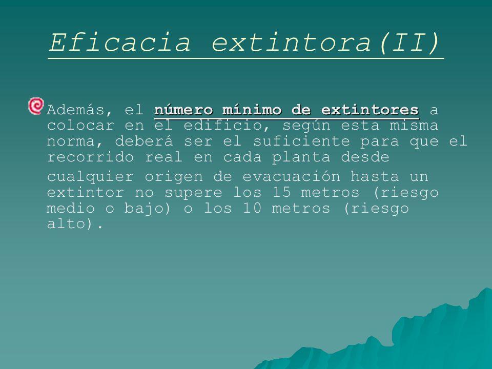 Eficacia extintora(II)