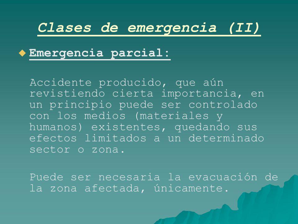 Clases de emergencia (II)