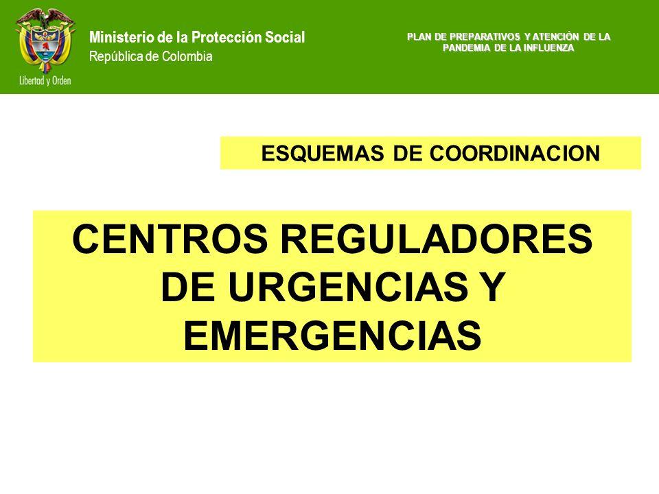 CENTROS REGULADORES DE URGENCIAS Y EMERGENCIAS