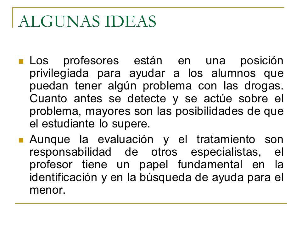 ALGUNAS IDEAS