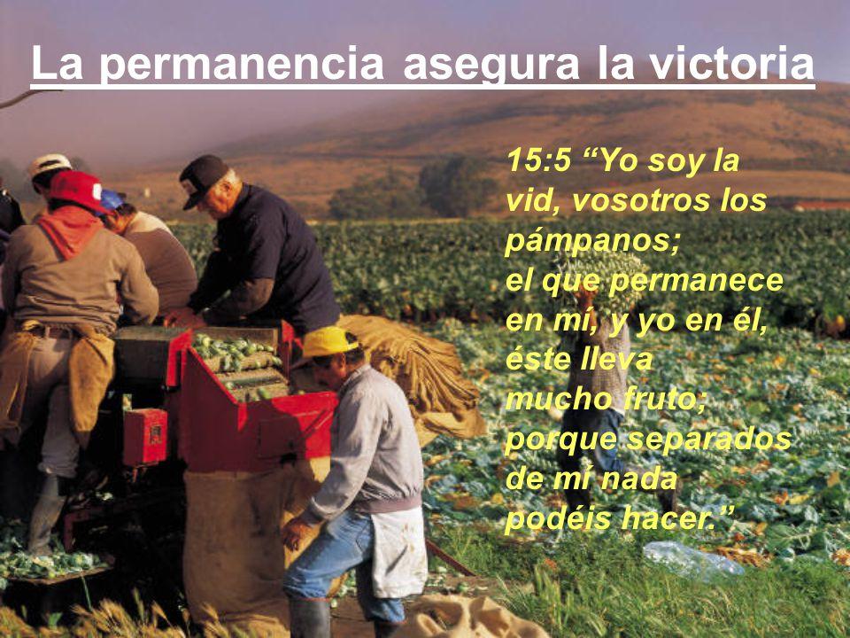 La permanencia asegura la victoria