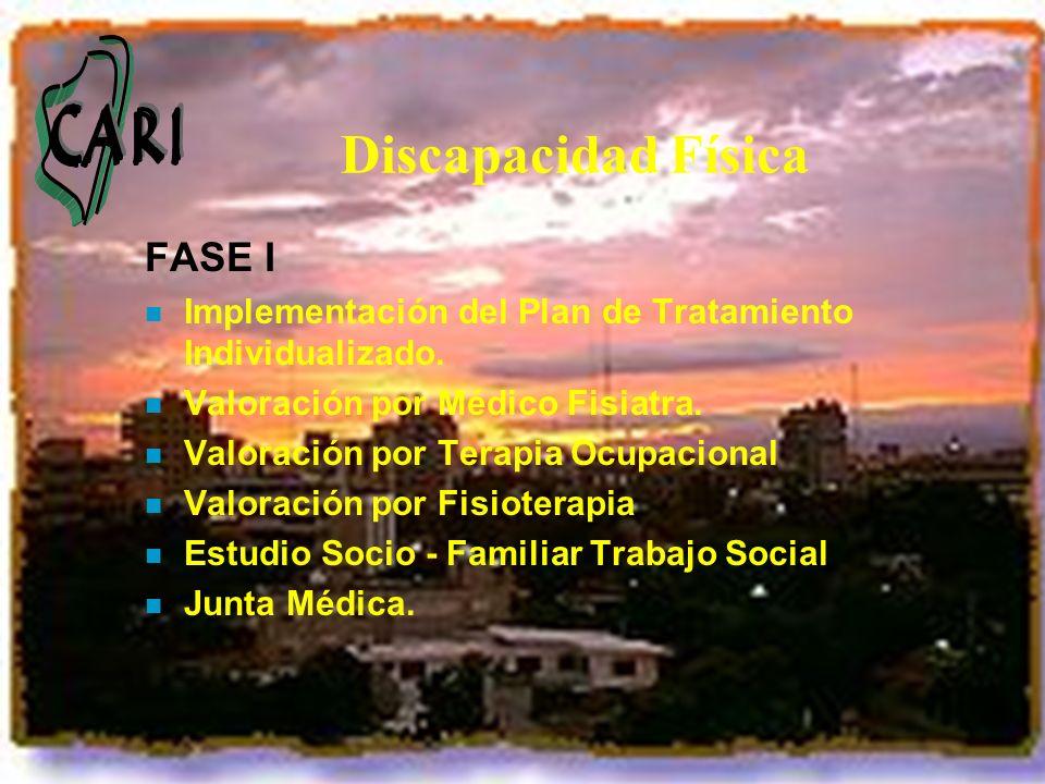 Discapacidad Física FASE I