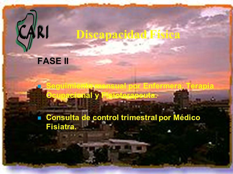 Discapacidad Física FASE II
