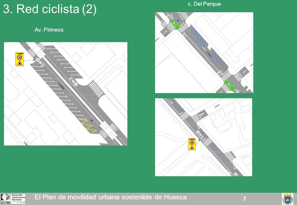 3. Red ciclista (2) El Plan de movilidad urbana sostenible de Huesca