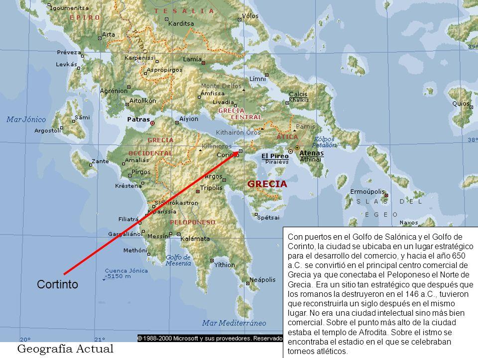 Cortinto Geografía Actual