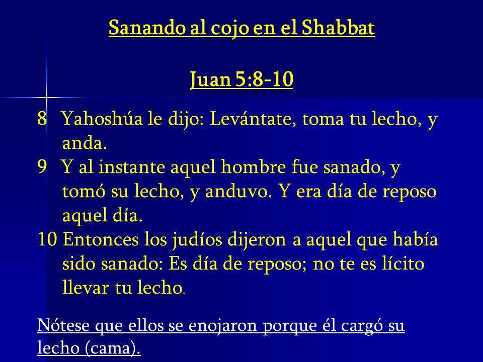 Sanando al cojo en el Shabbat