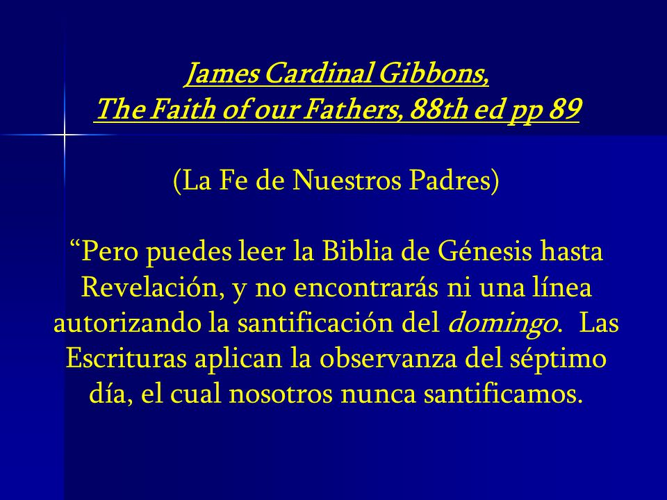 James Cardinal Gibbons,