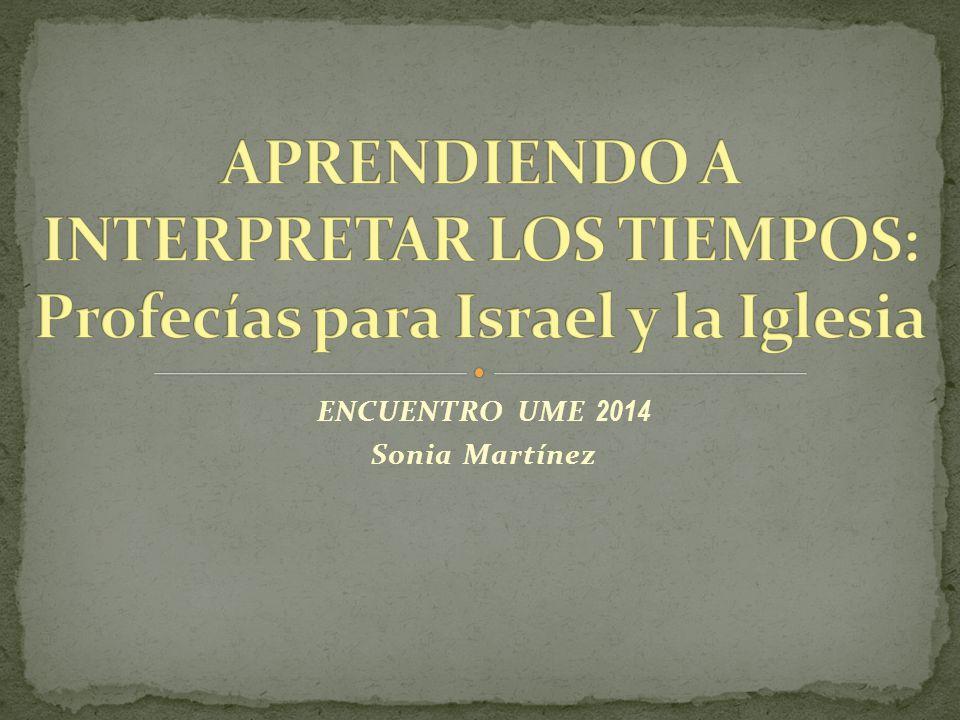 ENCUENTRO UME 2014 Sonia Martínez