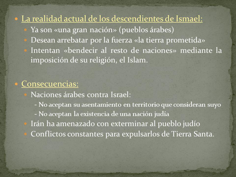 La realidad actual de los descendientes de Ismael: