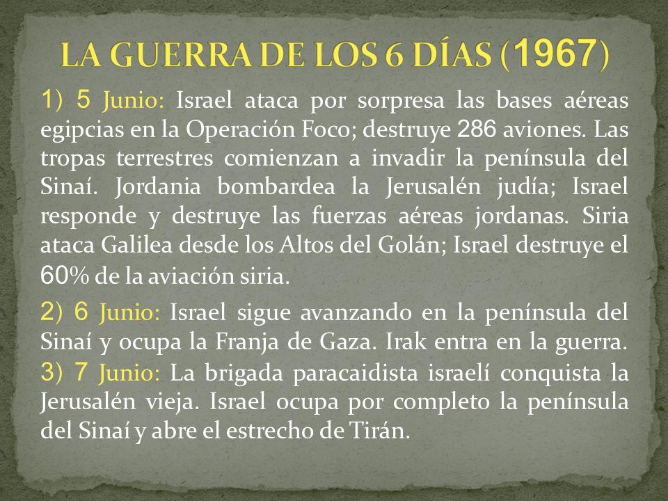 LA GUERRA DE LOS 6 DÍAS (1967)