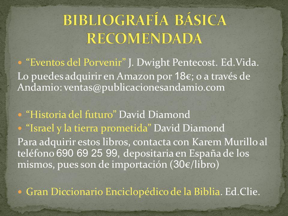 BIBLIOGRAFÍA BÁSICA RECOMENDADA