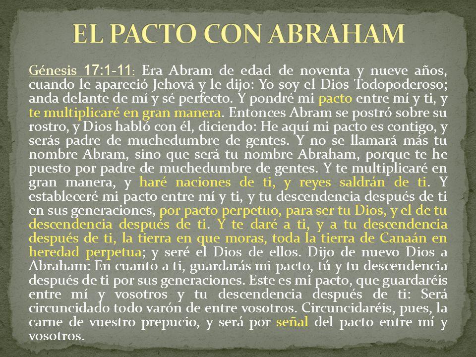 EL PACTO CON ABRAHAM
