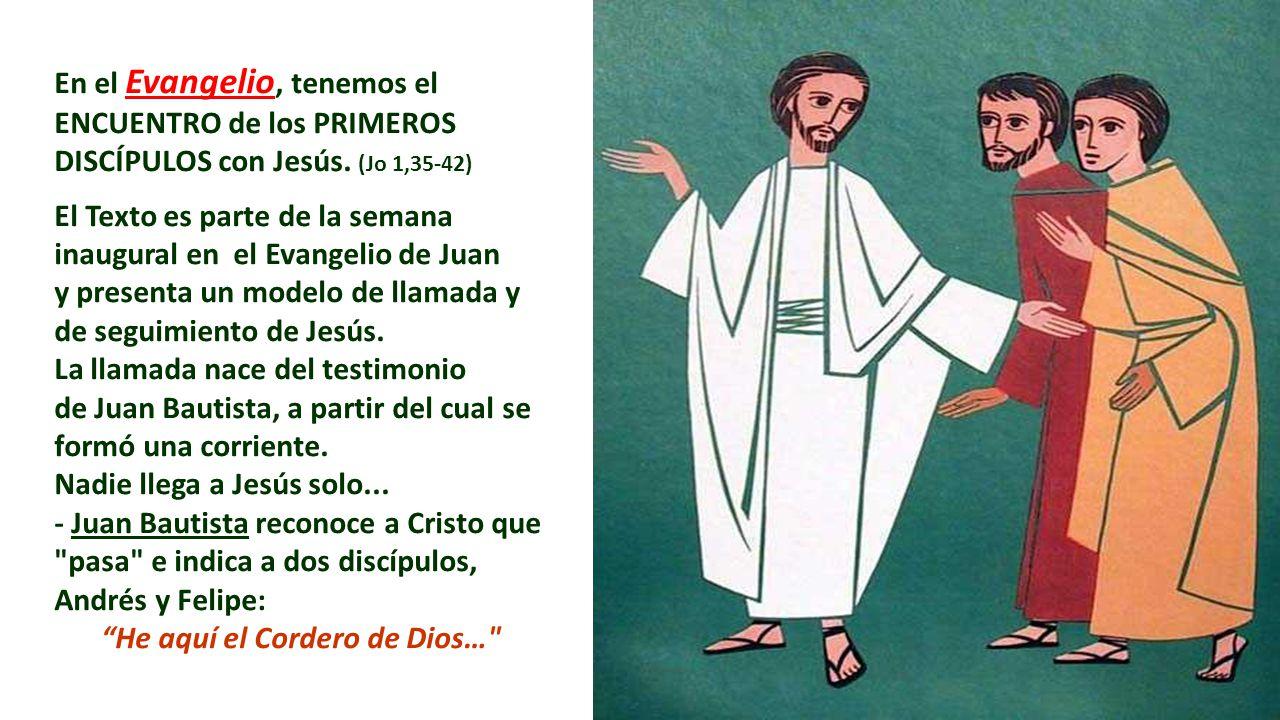 He aquí el Cordero de Dios…