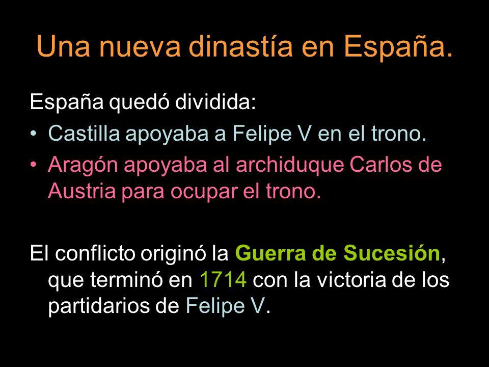 Una nueva dinastía en España.