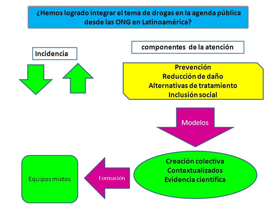 componentes de la atención Alternativas de tratamiento