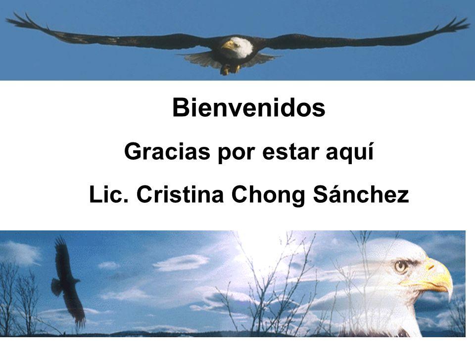 Lic. Cristina Chong Sánchez